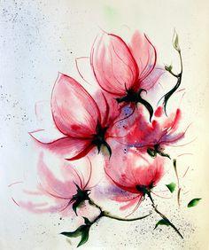 Magnolia painting (Tatiana Arsova)