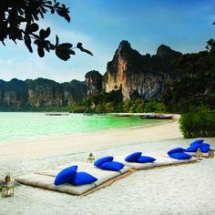 Ah, to be back here. Rayavadee Resort, Railay Beach, Thailand