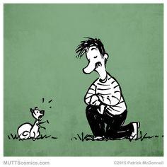 Have you appreciated a squirrel today? #SquirrelAppreciationDay #MUTTScomics