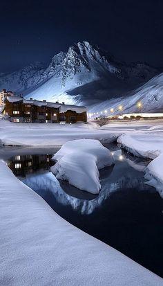 Ice and Berg.. Tignes, Rhône-Alpes, France (by Alain Wallior on 500px)