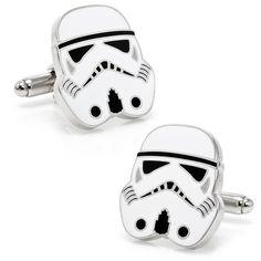 Star Wars Empire Cufflinks: Darth Vader, Boba Fett, Stormtrooper, Darth Maul