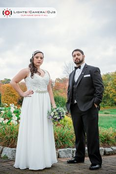 Stephanie and Dominic strike a pose during their wedding at Memories at the Tradition! Looking great! #lightscameradjs #ctweddings