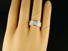 Men's Yellow Gold Over 5 Row Wedding Band Diamond Ring Size 7 8 9 10 11 12 13 14 #br925silverczjewelry #WeddingBand