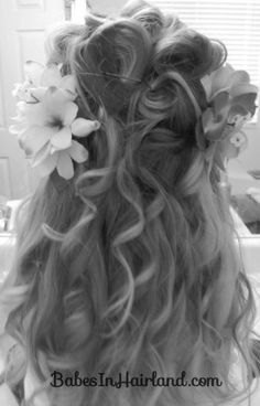 Fancy Princess Hair  - Giselle's Hair from Enchanted