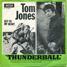 JAMES BOND 007 Tom Jones – Thunderball JAPAN 7