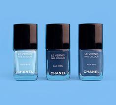 Les Jeans De Chanel Nail Polish