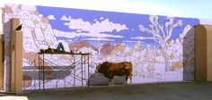 Paintings Made To Trick You Created by John Pugh.|FunPal Studio| Art, Artist, Artwork, Entertainment, Beautiful, Creativity, Illustration, Tattoo art, drawings, paintings, Street art, Murals, Technology, Graffiti art