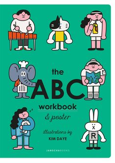 the ABC workbook on Behance Japanese Illustration, Line Illustration, Character Illustration, Design Poster, Graphic Design Art, Graphic Design Illustration, David Carson, Design Brochure, Exhibition