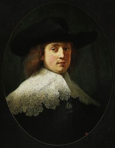 Portrait of Maerten Soolmans by Rembrandt, 1634 (PD-art/old), Muzeum Narodowe w Warszawie (MNW), from the collection of Stanislaus Augustus