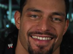 Roman Reigns Smile Is So Adorable