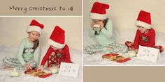 Christmas Pictures. Perfect for the pj's they get on Christmas Eve!!!