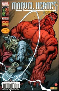 SCORCHED EARTH PART 2 To save the world, Red Hulk needs the mightiest Avenger, and Thor has just the right tool for the job--the matchless Mjolnir! But when the God of Thunder's hammer drops, how much of Thor's wrath will fall on Red Hulk himself? Marvel Comics Superheroes, Marvel Comic Books, Comic Book Characters, Comic Book Heroes, Marvel Heroes, Red Hulk Marvel, Hulk Avengers, Fictional Characters, Hulk Artwork