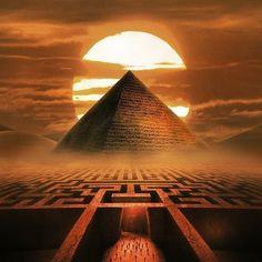 Egyptian Mythology, Egyptian Symbols, Egyptian Art, Ancient Egypt Art, Ancient Aliens, Egyptian Tattoo Sleeve, Fantasy Landscape, Dark Fantasy, Images