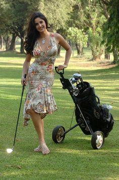 Katrina....golfing