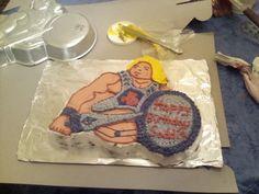 Yes, a Heman cake