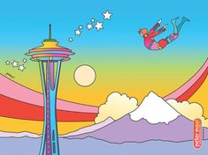 Pop artist in Seattle with new exhibition: Peter Max: A Retrospective, 1960-2015
