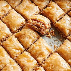 Peanut Baklava From Better Homes and Gardens, ideas and improvement projects for your home and garden plus recipes and entertaining ideas.