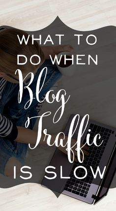 Great advice for overcoming low blog traffic. Blogging tips - and when you should head outside of your blog to make an impact elsewhere. I hadn't heard most of these ideas before! | http://brilliantbusinessmoms.com
