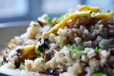 "fried ""rice""