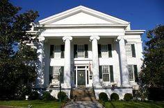 """Aspen Hall Manor -- 1840 -- Harrodsburg, Kentucky.  Little farm house hubby can build for on """"The Ponderosa"""".  <3"""