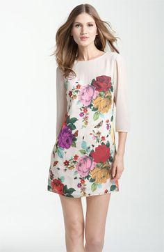 Ted Baker London Garden Print Sweetheart Dress | Nordstrom  $149
