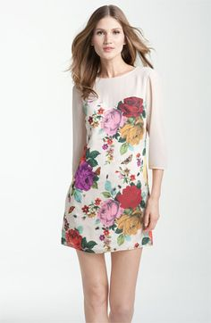 Ted Baker London Garden Print Sweetheart Dress | Nordstrom  $149