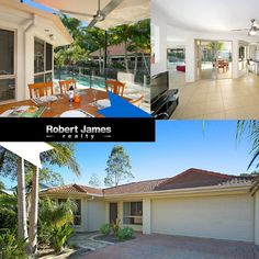 #Propertyforsale #Realestate The main bedroom is set apart from the remaining bedrooms and is finished with a huge built-in robe, bay window and generous sized ensuite.  With both the second and third bedrooms being of a good size complete with built ins and situated on either side of the main bathroom, its ideal for children or guests.  Location: 6 Daintree Way, Tewantin, QLD, 4565