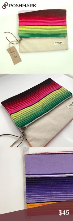 "FOLD OVER RAINBOW CLUTCH BAG. BRAND NEW! 9"" x 11"" FOLD OVER RAINBOW CLUTCH BAG. BRAND NEW! 9"" x 11"" Bags Clutches & Wristlets"