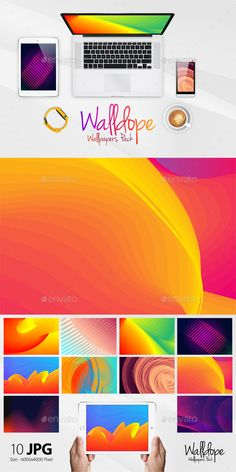 Walldope Abstract Wallpapers Pack 1 by ydlabs Change the look of your Desktop, Tablet