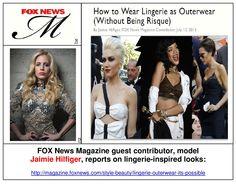 Jaimie Hilfiger in Fox News Magazine