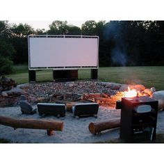 why drive in if you can put it in your backyard movie theater?