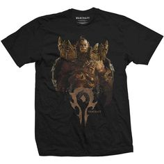 World of Warcraft Men's Tee: Blackhand Compilation Wholesale Ref:WOWTS08MB