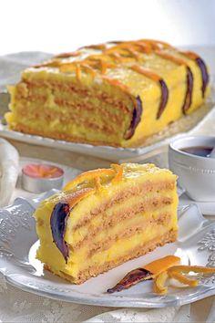 Torte Recepti, Kolaci I Torte, Christmas Appetizers, Christmas Desserts, Serbian Recipes, Serbian Food, Cupcake Recipes, Dessert Recipes, Torta Recipe