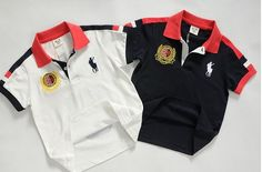 2014 Summer New Arrival 100% Cotton Boy Brand Horse NO 3 Children Polo T Shirts