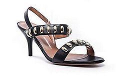 Les Tropeziennes Nanael Stilettos Sandals Womens Shoes Corvo Black Size 8.5