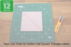 6köpfe12blöcke, half square triangles