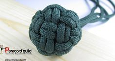 Globe Knot as wrapped Monkeyfist alternative.