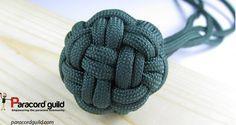 Globe Knot as wrapped Monkeyfist alternative.