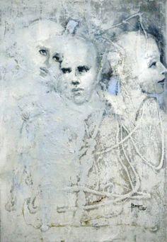 """Saatchi Art Artist Faiza Bayou; Painting, """"Complicated Love"""" #art"""