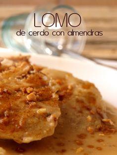 Bocados dulces y salados: LOMO DE CERDO CON ALMENDRAS