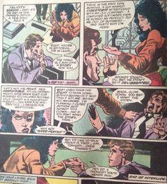 Felicity Smoak 2nd appearance Fury of Firestorm #34: The Big Freeze. #Arrow #Olicity