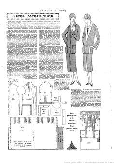 La Mode du jour Pattern suit jacket skirt