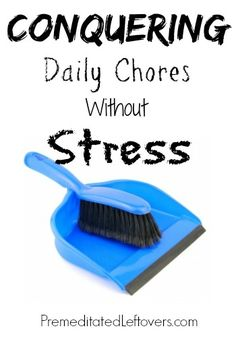 Conquering Daily Chores Without Stress