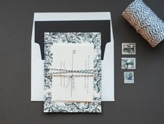 Oh So Beautiful Paper: DIY Tutorial: Rubber Stamp Floral Wedding Invitations