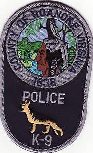 County of Roanoke Virginia - Police K-9