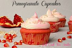 @Allison j.d.m Cooper we should try these Pomegranate Cupcakes, Bake For Cure 2012 - Will Cook For Smiles