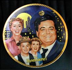 The Official Honeymooners Commemorative Plate 1992 Hamilton Collection Jackie Gleason, Away We Go, Consignment Shops, Hamilton, Favorite Tv Shows, Charity, Thrifting, Captain Hat, Best Deals
