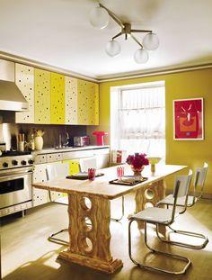 Contemporary Kitchen by Muriel Brandolini in New York City