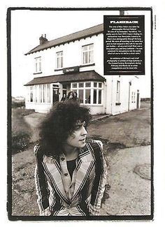 Marc Bolan (T REX) 'up north' magazine PHOTO/Poster/clipping inches Marc Bolan, Poetry Photos, Electric Warrior, Thing 1, Band Pictures, Glamour, Picture Collection, Glam Rock, Great Bands