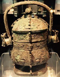 Western zhou wine vessel